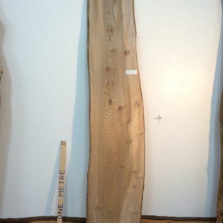PIPPY ELM 3cm thick - tree number 1329 Natural Waney Live Edge Slab Board Kiln Dried Planed Seasoned Hardwood