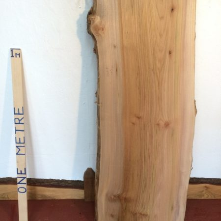 BURRY ELM 6.5cm thick - tree number 1112A Natural Waney Live Edge Slab Wood Board Kiln Dried Planed Seasoned Hardwood