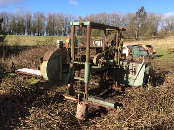 Forestor Sawmaster Rebuild progress report 23rd May 2017