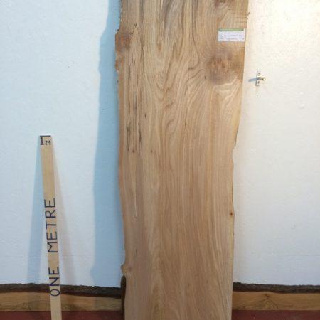 ELM 5.2cm thick - tree number 1226 Natural Waney Live Edge Slab Board Kiln Dried Planed Seasoned Hardwood