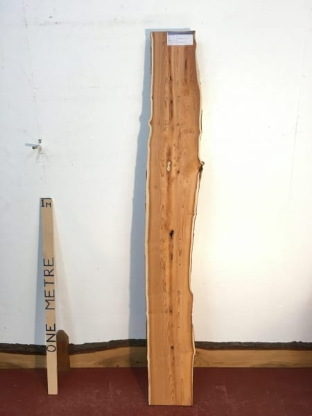 PIPPY YEW 3.2cm thick - tree number 1459A Natural Waney Live Edge Slab Wood Board Kiln Dried Planed Seasoned Hardwood