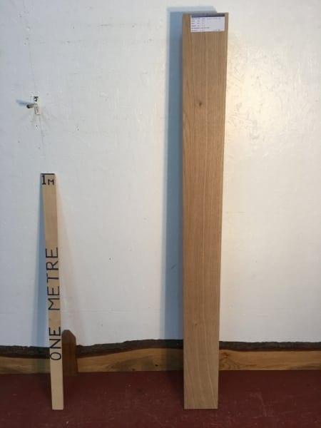 OAK 1123-1A PAR Planed All Round Square Edge Board Thickness 4.2cm Kiln Dried Seasoned Hardwood