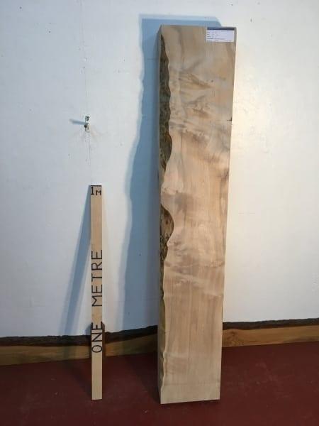 MAPLE 1303-2 PAR Planed All Round Square Edge Kiln Dried Seasoned Hardwood Timber Board Thickness 12cm Fireplace Mantel Shelf
