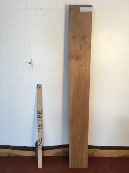 ELM 1496A-10 PAR Planed All Round Square Edge Kiln Dried Seasoned Hardwood Timber 2.7cm thick