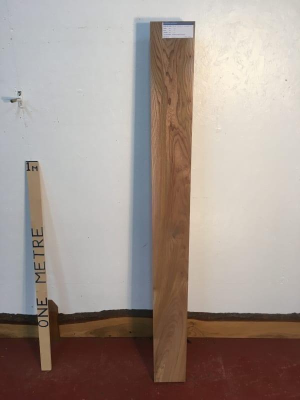 ELM 1233B-2 PAR Planed All Round Square Edge Kiln Dried Seasoned Hardwood Timber Board Thickness 6.5cm Shelf Mantel