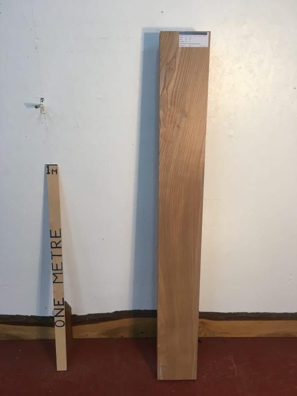 ELM 1385-8Q PAR Planed All Round Square Edge Kiln Dried Seasoned Hardwood Timber Board Thickness 7cm Shelf Mantel