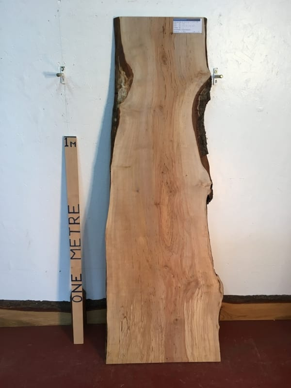 BIRCH Natural Waney Live Edge Slab Wood Board 1577-5A Thickness 3cm