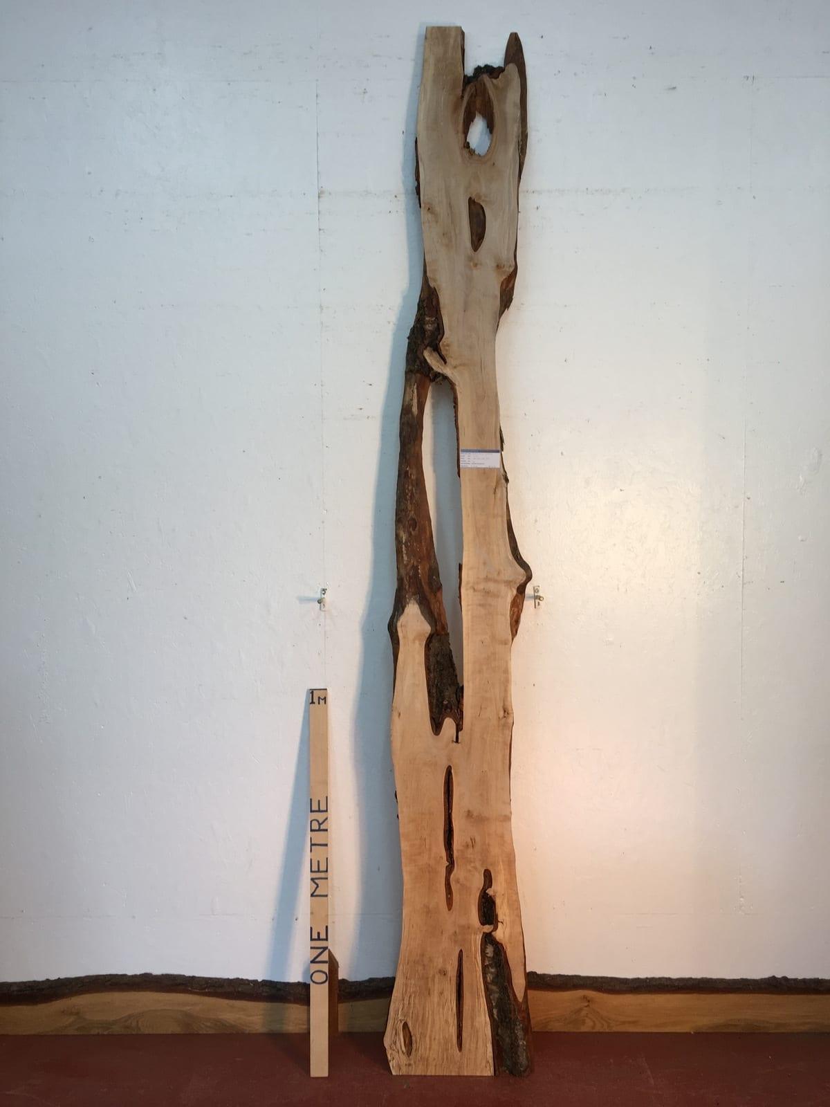 BIRCH Natural Waney Live Edge Slab Wood Board 1577-2