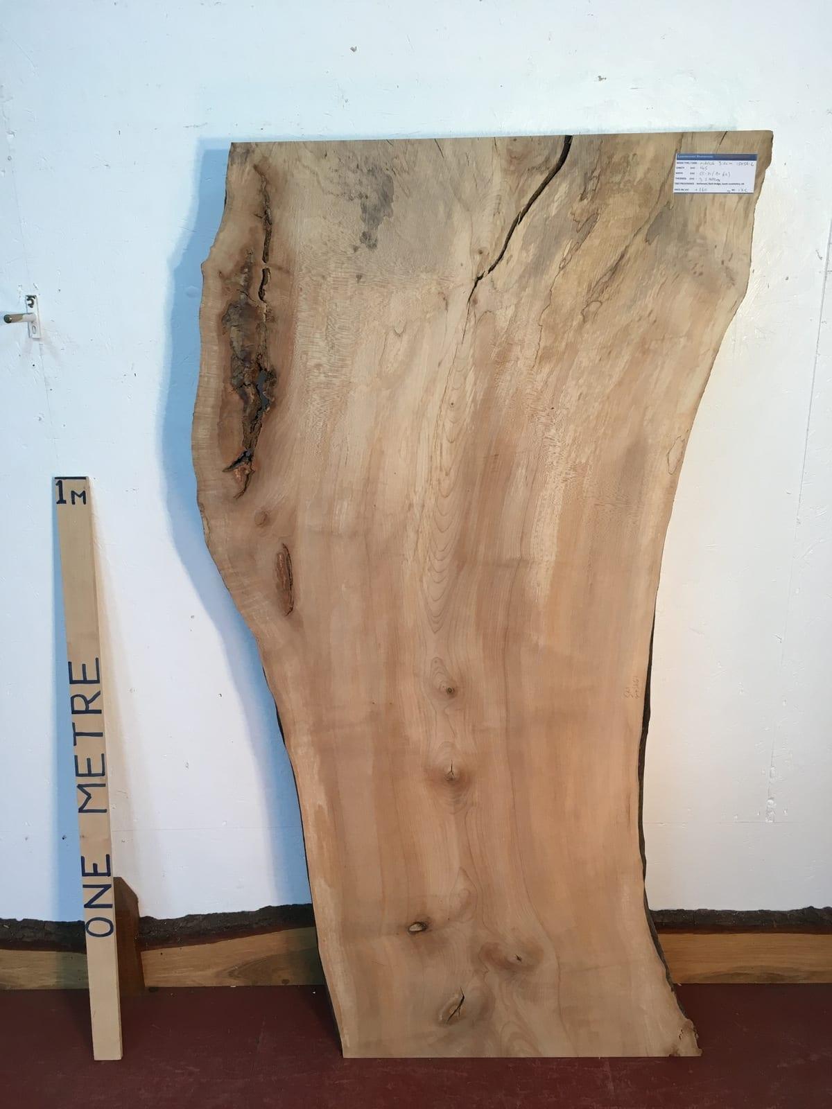 MAPLE Natural Waney Live Edge Slab Wood Board 1575A-6