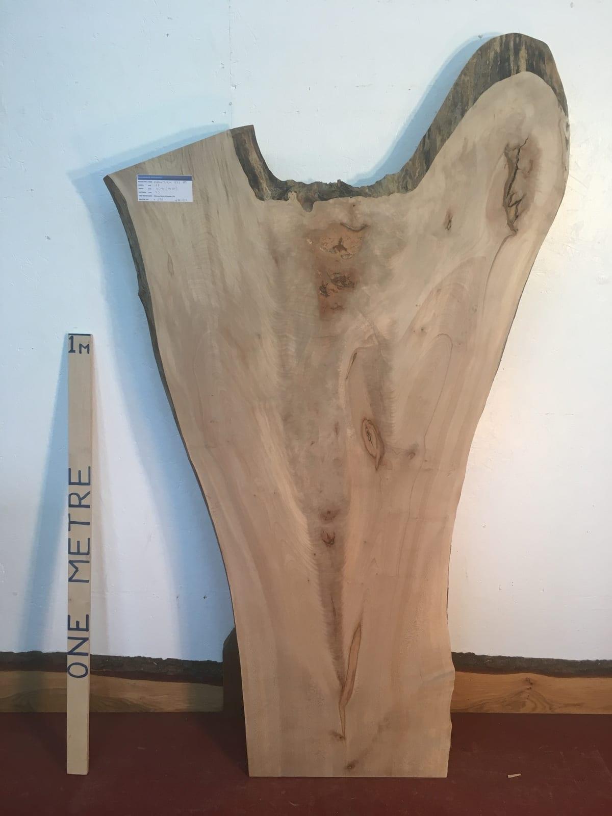 MAPLE Natural Waney Live Edge Slab Wood Board 1572-8B