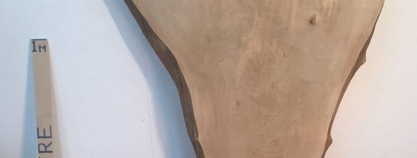 MAPLE Natural Waney Live Edge Slab Wood Board 1572-4B