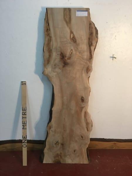 MAPLE Natural Waney Live Edge Slab Wood Board 1570-9A