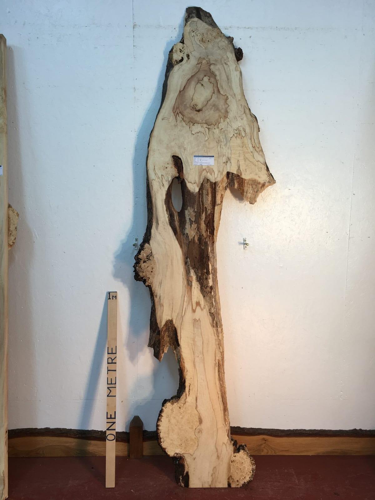 BURRY HORSE CHESTNUT Natural Waney Live Edge Slab Wood Board 1390B-14