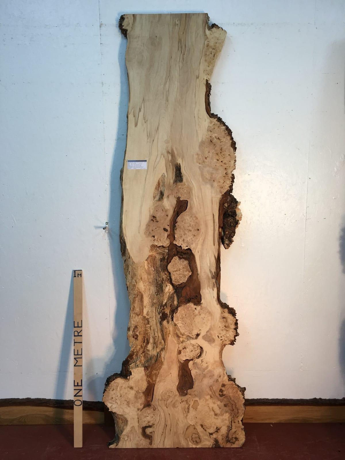 BURRY HORSE CHESTNUT Natural Waney Live Edge Slab Wood Board 1390B-1