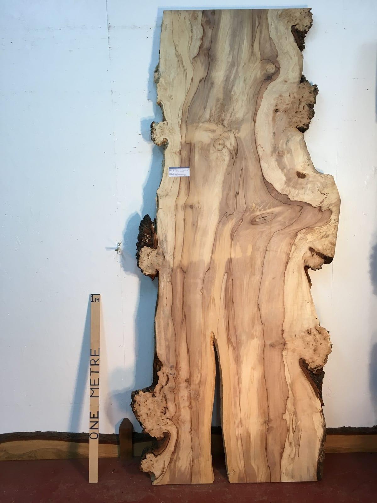 BURRY HORSE CHESTNUT Natural Waney Live Edge Slab Wood Board 1390B-8