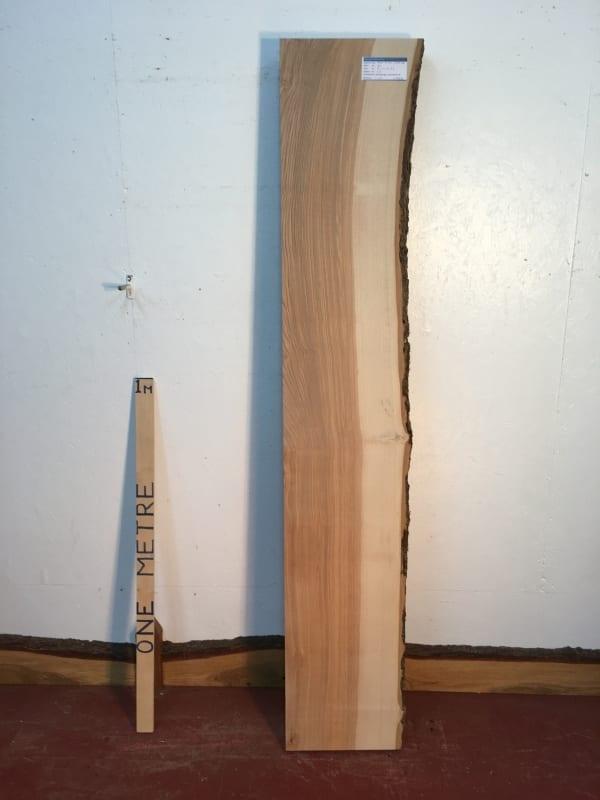 ASH Single Natural Waney Live Edge Slab Wood Board 1537A-4R