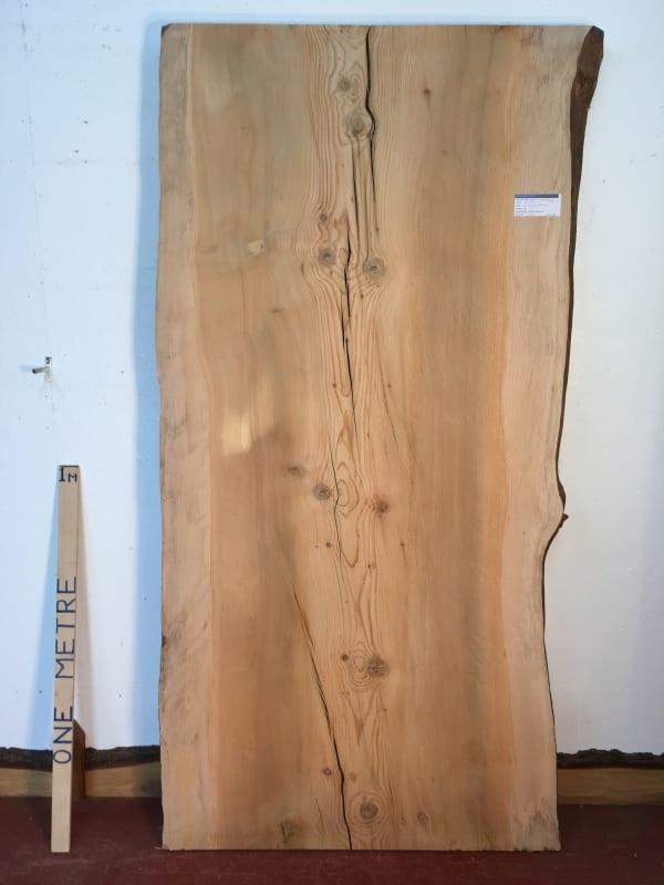 CEDAR OF LEBANON Natural Waney Live Edge Slab Wood Board 1393A-5