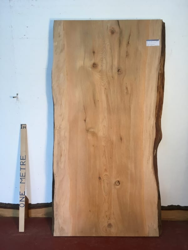 CEDAR OF LEBANON Natural Waney Live Edge Slab Wood Board 1393A-4