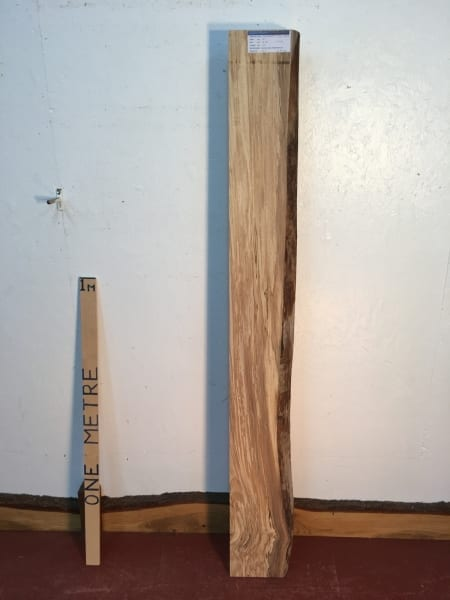SPALTED BEECH Single Waney Natural Live Edge Board 1382-8