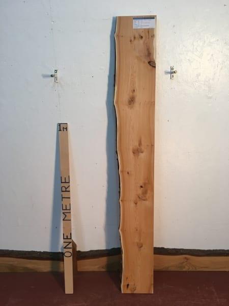 YEW Single Waney Natural Live Edge Board 1440B-1