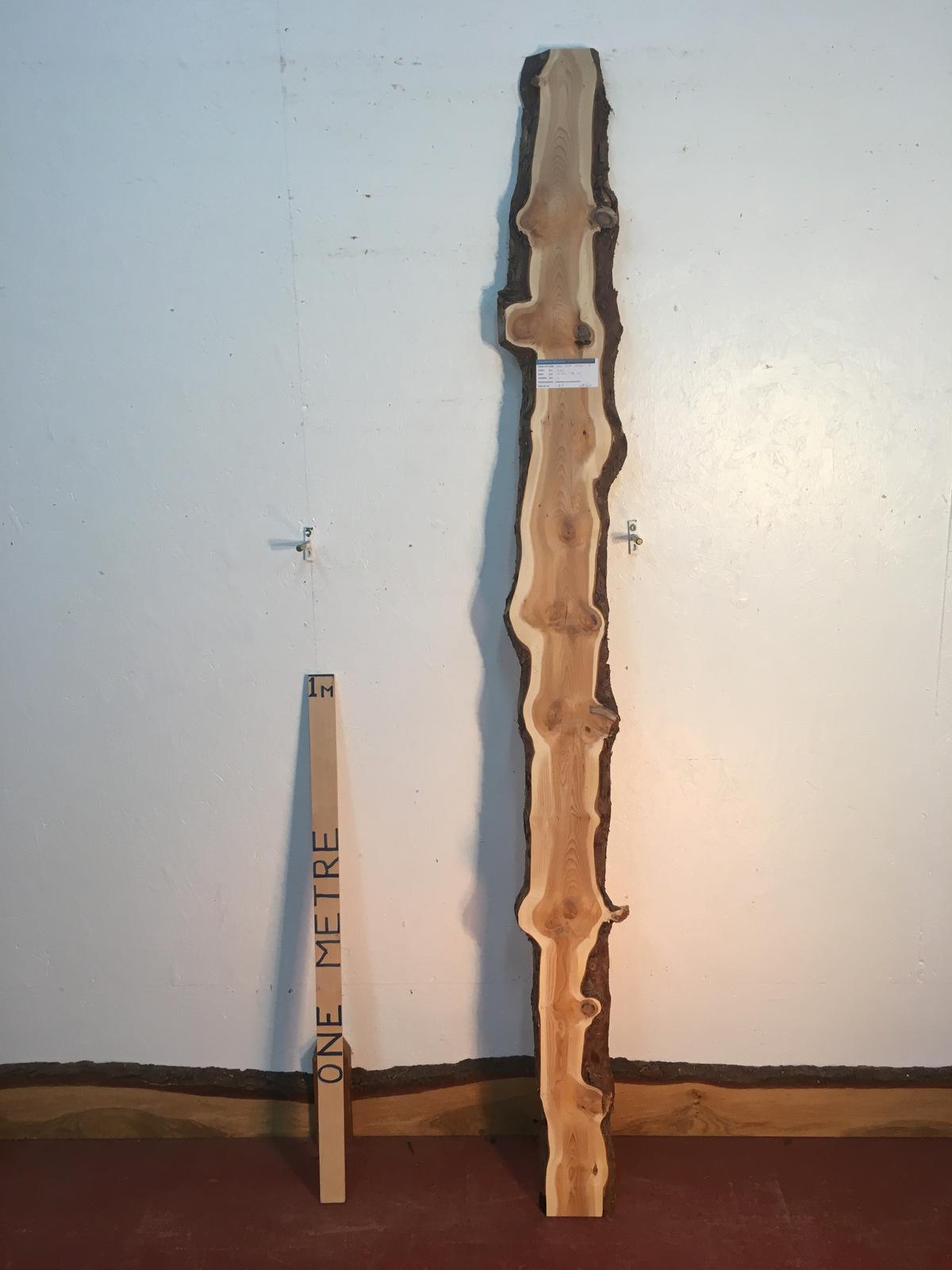 YEW Natural Waney Live Edge Slab Wood Board 1437C-2
