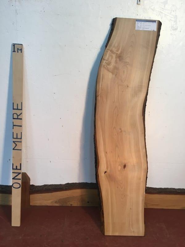 CHERRY Natural Waney Live Edge Slab Wood Board 1554C-3B