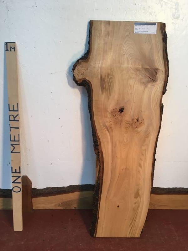CHERRY Natural Waney Live Edge Slab Wood Board 1554B-8A