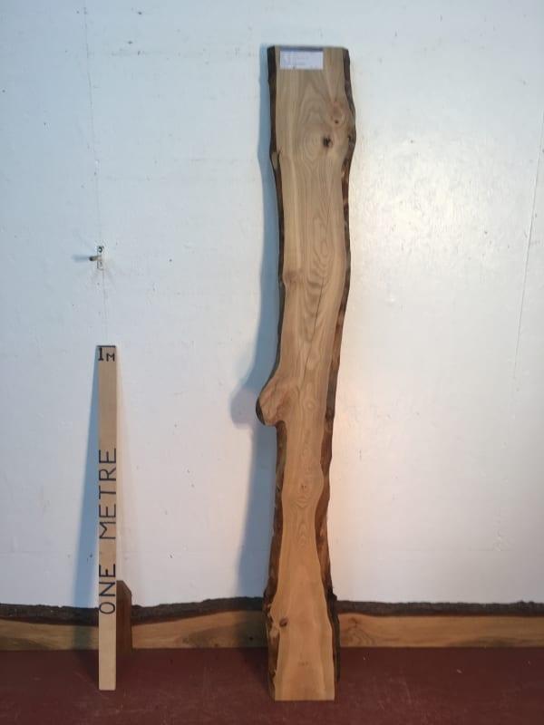 CHERRY Natural Waney Live Edge Slab Wood Board 1554E-1