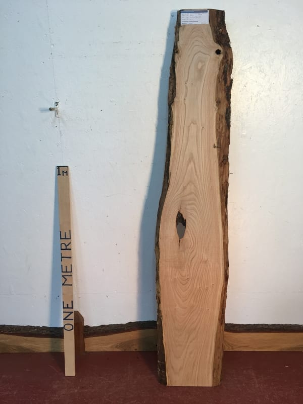 SWEET CHESTNUT Natural Waney Live Edge Slab Wood Board 1554-3