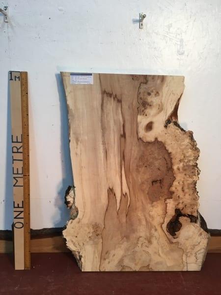 BURRY HORSE CHESTNUT Natural Waney Live Edge Slab Wood Board 1390A-3B
