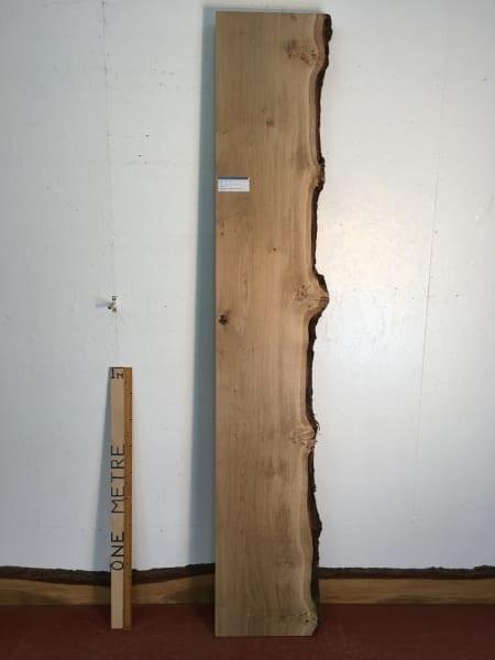 BURRY OAK Single Waney Natural Live Edge Board 1271-5