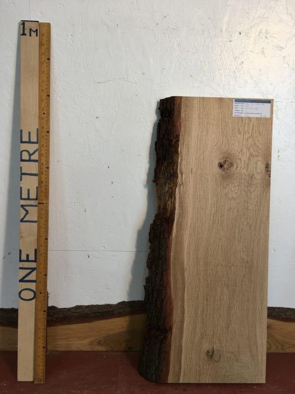 OAK Single Waney Natural Live Edge Board 1271-2A