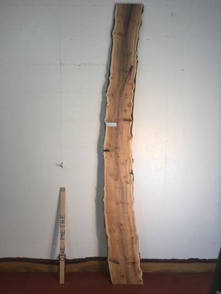 PIPPY YEW Natural Waney Live Edge Slab Wood Board 1557B-5