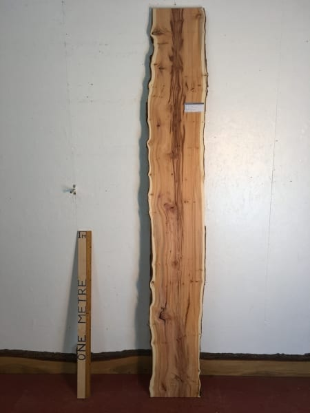 YEW Natural Waney Live Edge Slab Wood Board 1557A-9L