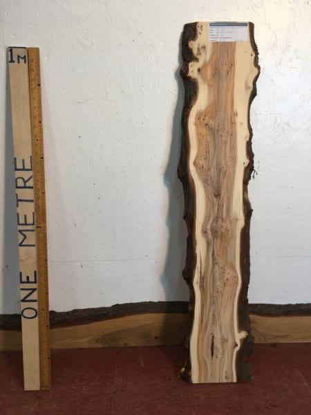 PIPPY YEW Natural Waney Live Edge Slab Wood Board 1557B-2B