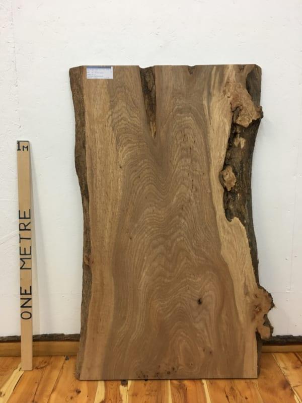 BURRY ELM Natural Waney Live Edge Slab Wood Board 1536A-3B