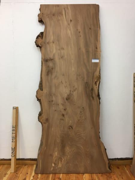 BURRY ELM Natural Waney Live Edge Slab Wood Board 1536A-6