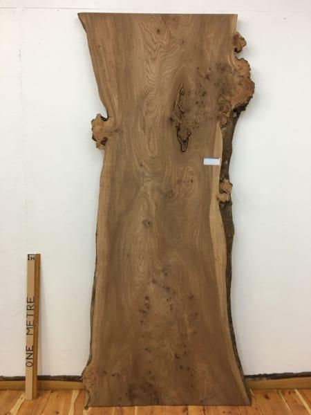 BURRY ELM Natural Waney Live Edge Slab Wood Board 1536A-11