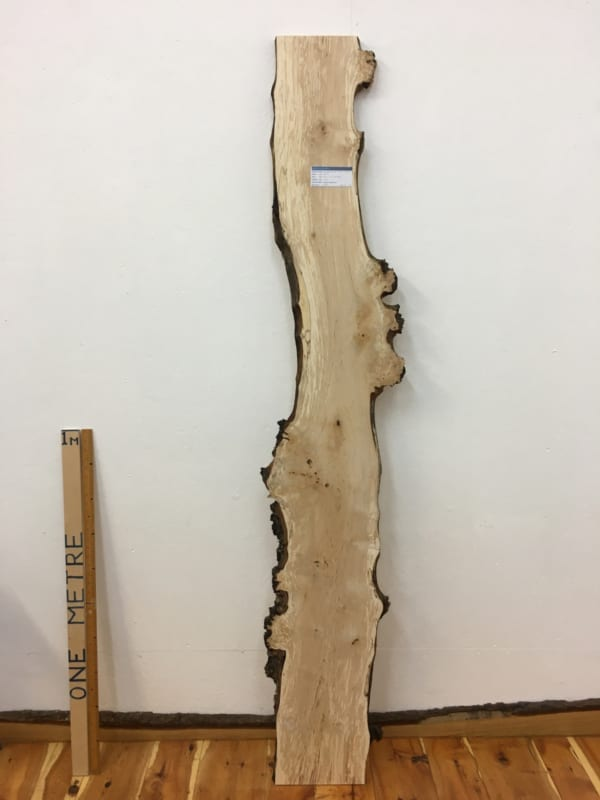 BURRY BIRCH Natural Waney Edge Slab Wood Timber Board 1614-5