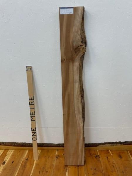 ELM Single Waney Natural Edge Board 1546A-5AL Thickness 6.5cm Kiln Dried Planed & Thicknessed Seasoned Hardwood Live Edge