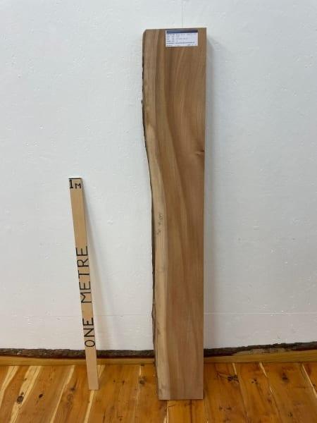 ELM Single Waney Natural Edge Board 1546B-3R Thickness 7cm Kiln Dried Planed & Thicknessed Seasoned Hardwood Live Edge